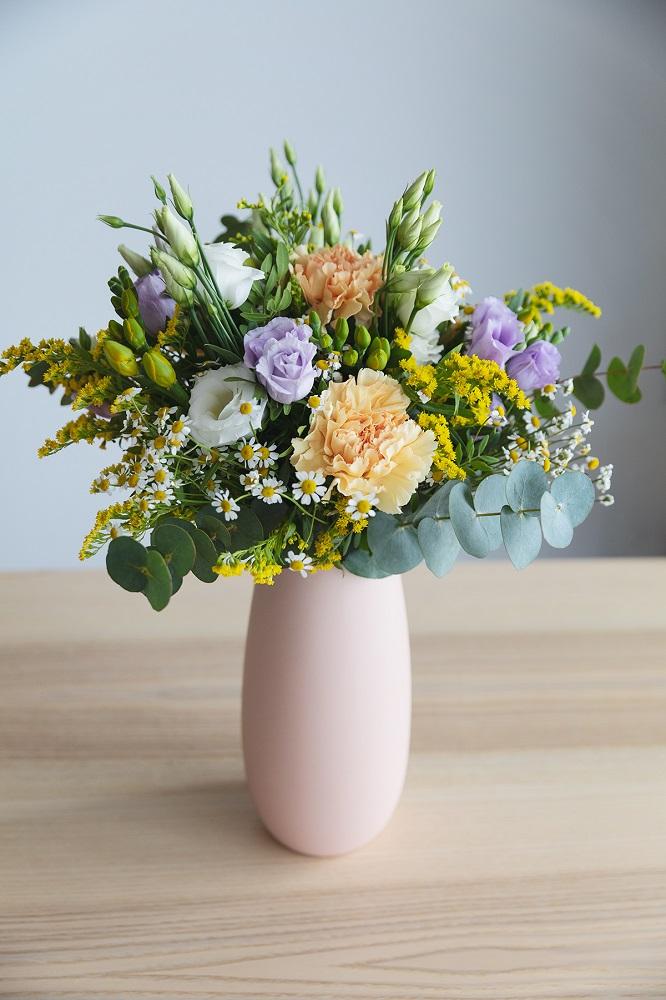 cuidar flores frescas