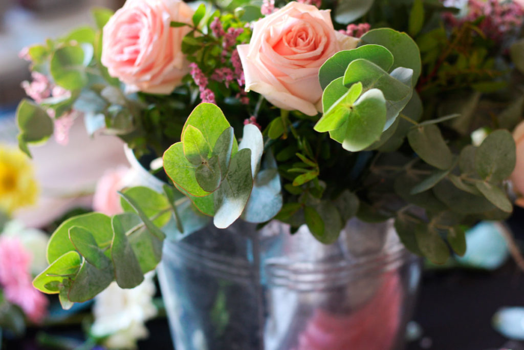 Flores frescas y sus beneficios