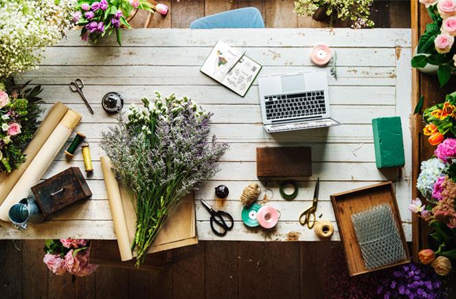 Flores Frescas: beneficios en casa y la oficina