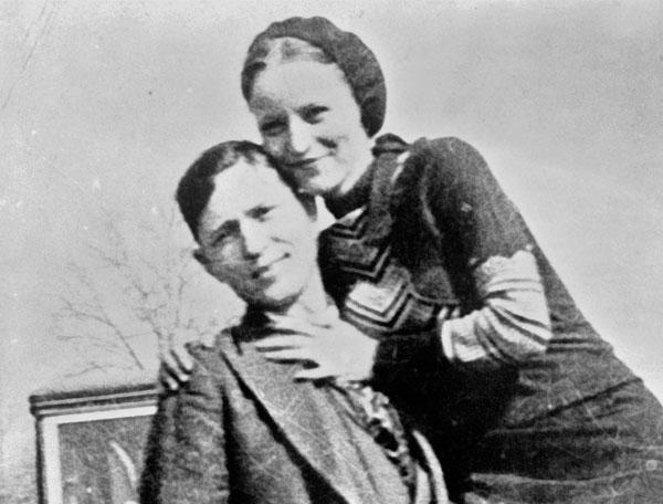 Bonnie & Clyde, los fugitivos enamorados