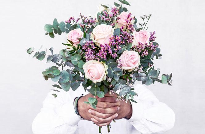 Flores contra el cáncer de mama