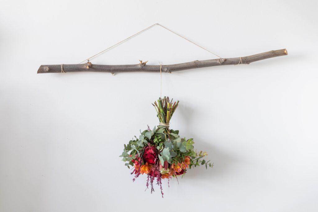como secar flores naturales