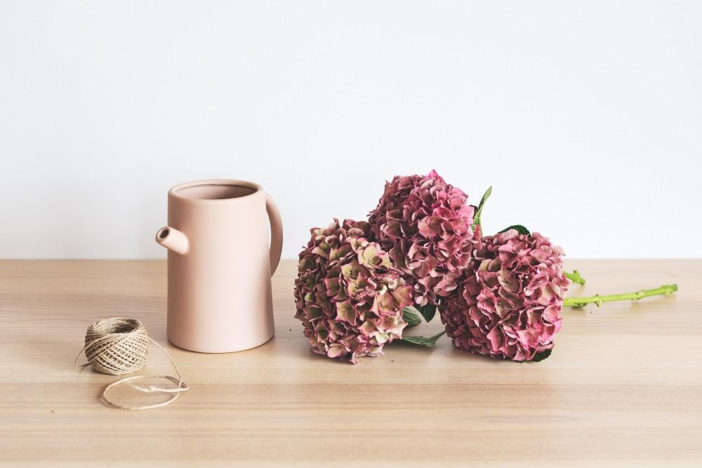 secar flores material