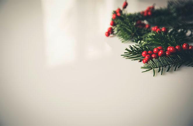El muérdago y la Navidad más romántica
