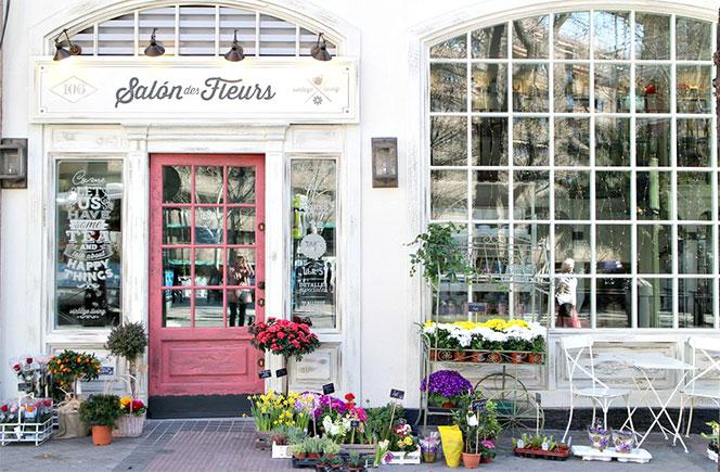 Rincones en Madrid con flores