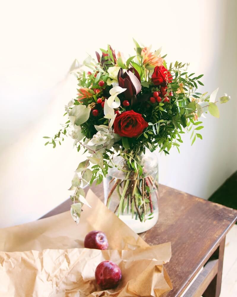Diseño de interiores y flores