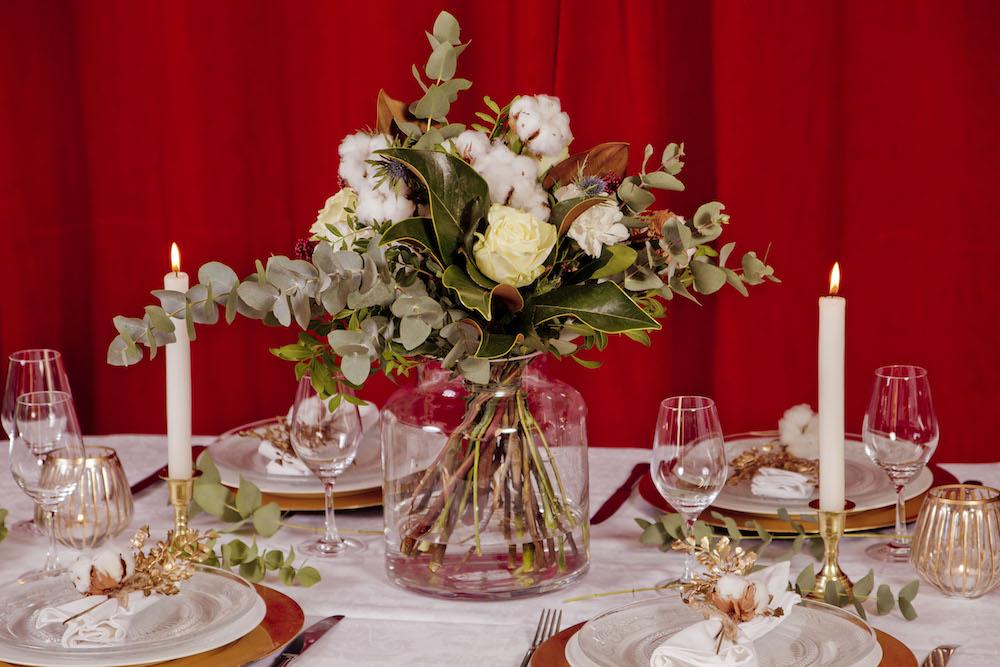 Flor de algodón en nuestro Christmas dream