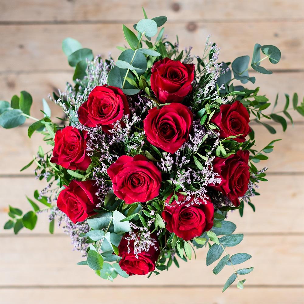 Rosas para San Valentín, uno de los detalles por excelencia