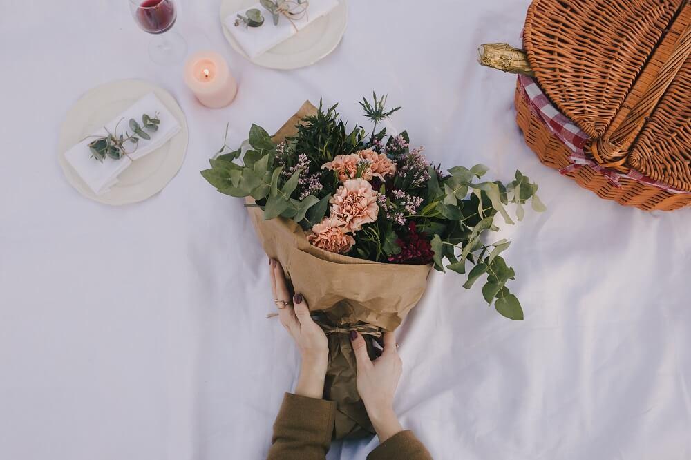 día de san valentín flores
