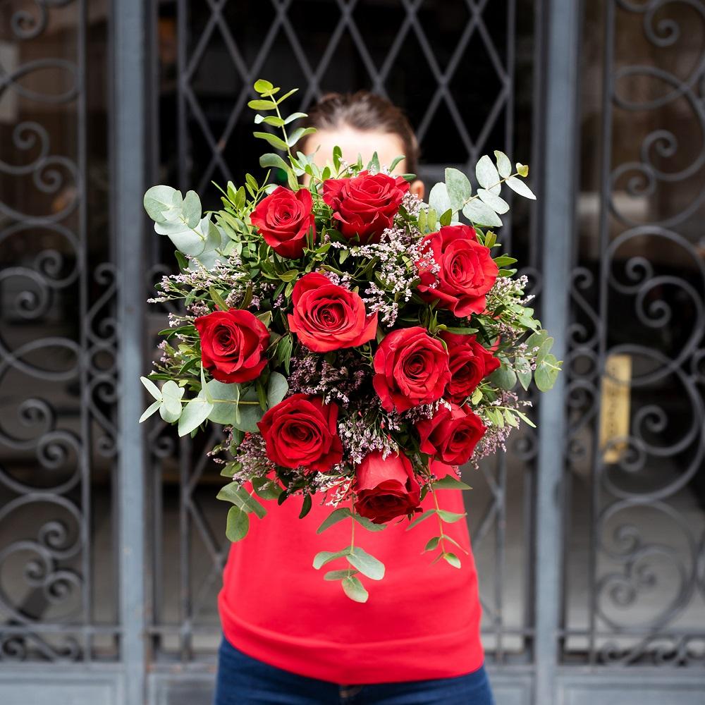 rosas para san valentín classic love