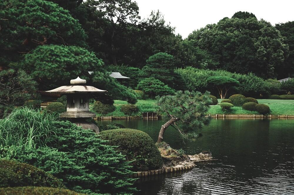 decoración de jardines japonés