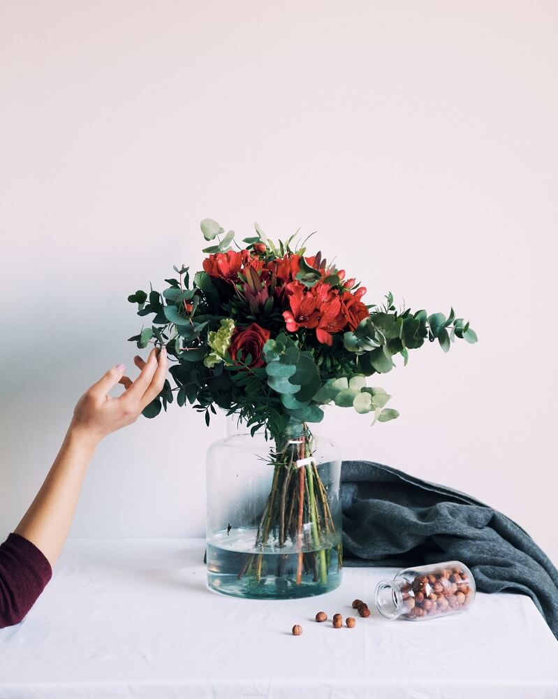 cómo decorar una habitación ramo