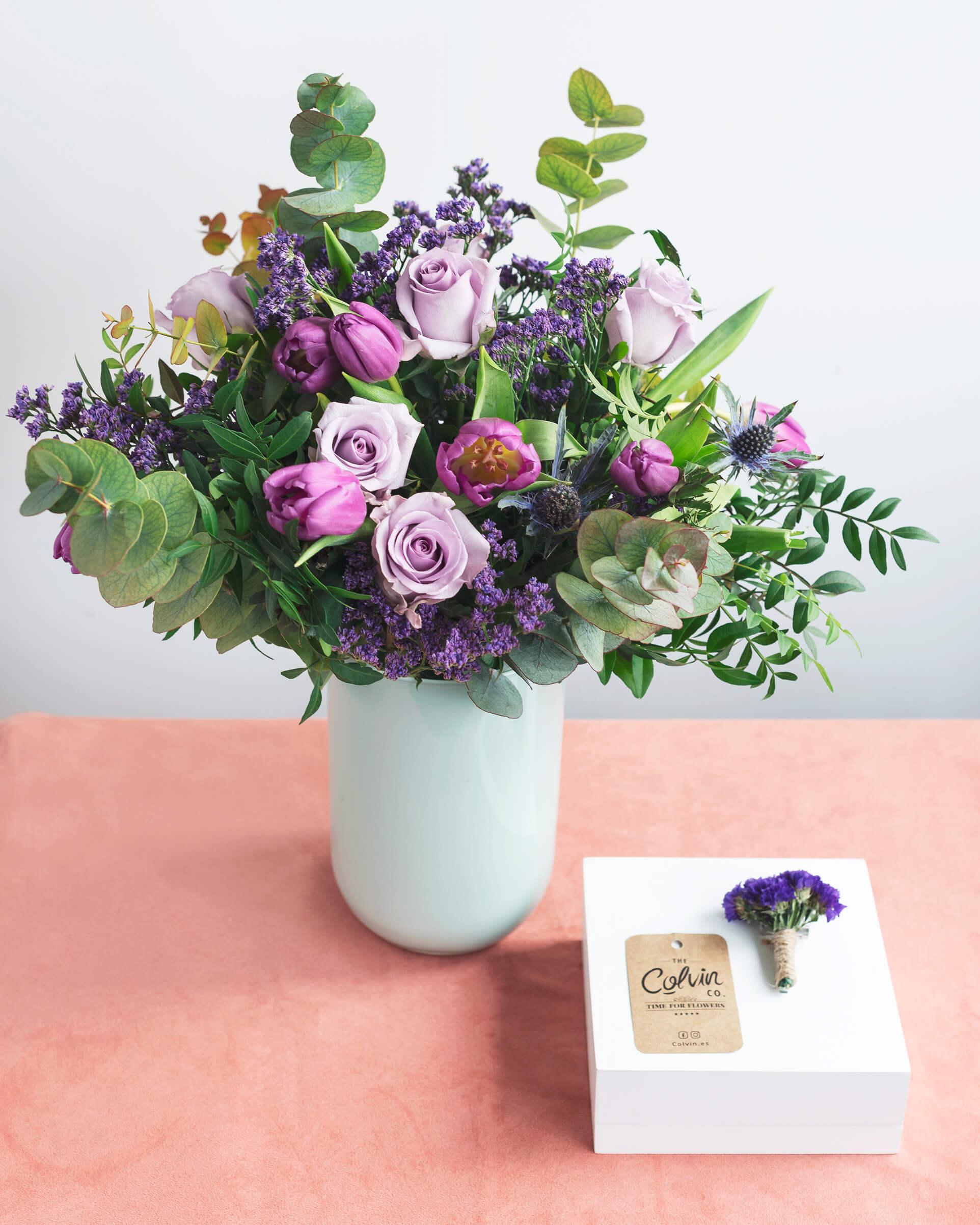 ramo de flores colvin Michelle - dia de la mujer