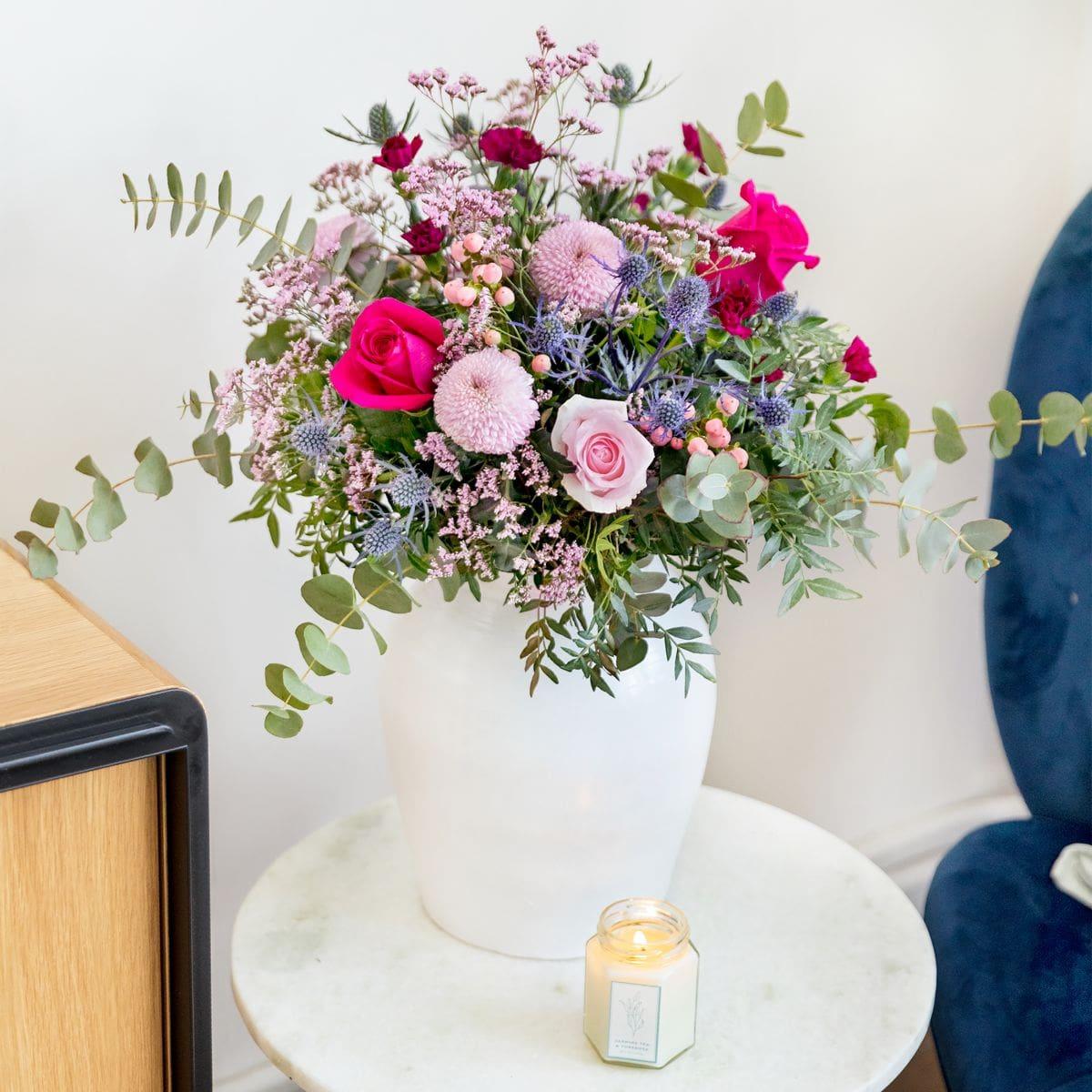 ramo rosas y crisantemos dia madre