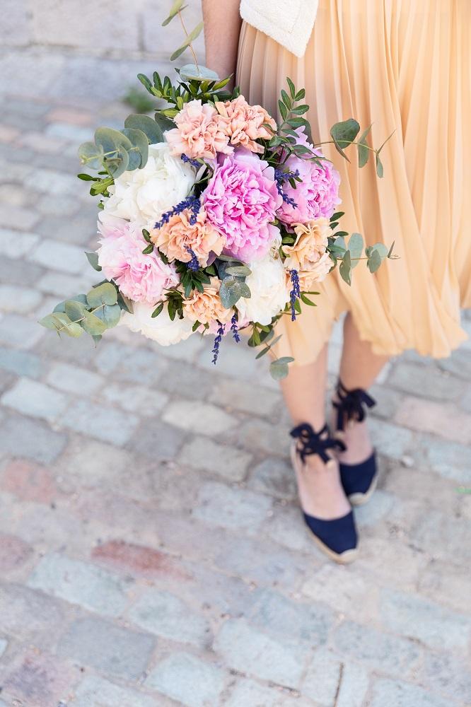 flores de moda peonías