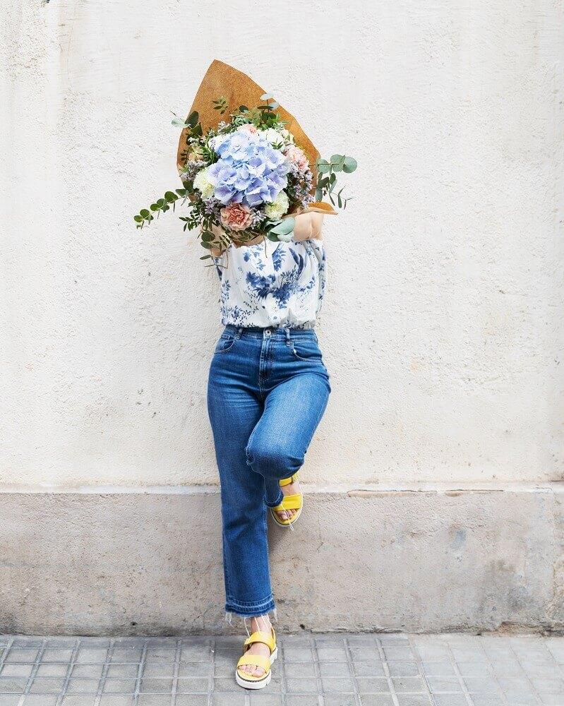 secar hortensias flores