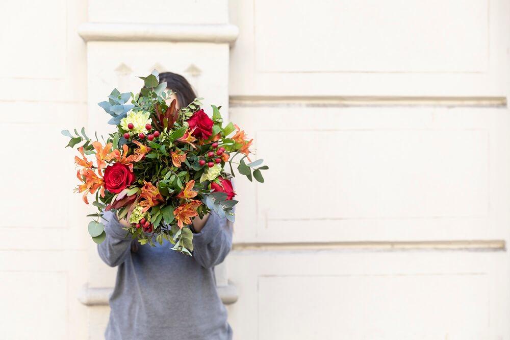 flores silvestres lentisco