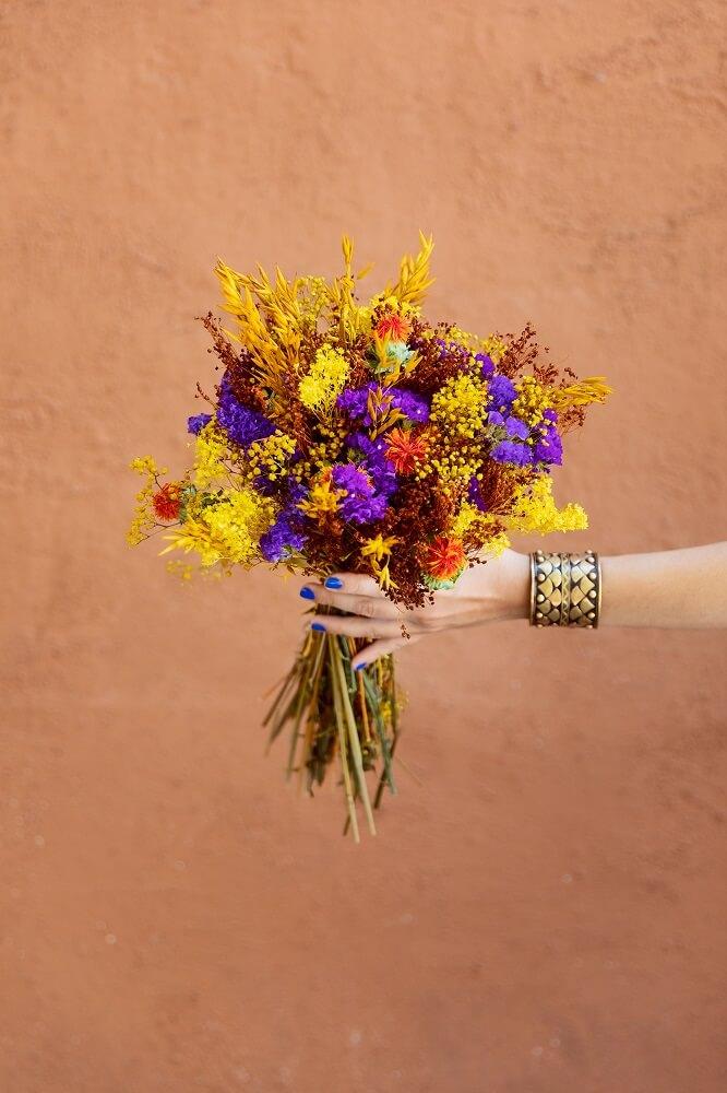 avena flor seca