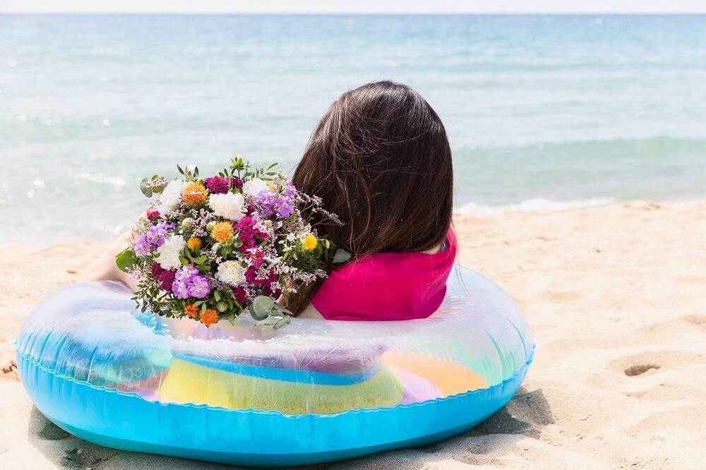 Calor, agua y la flor cártamo