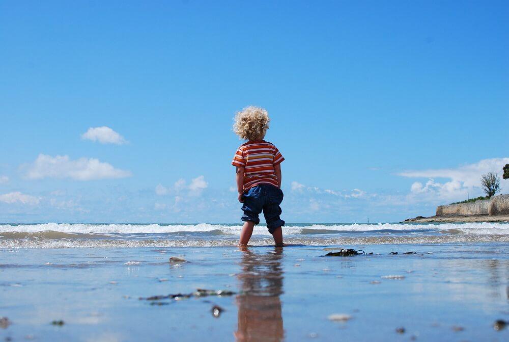 actividades para niños playa