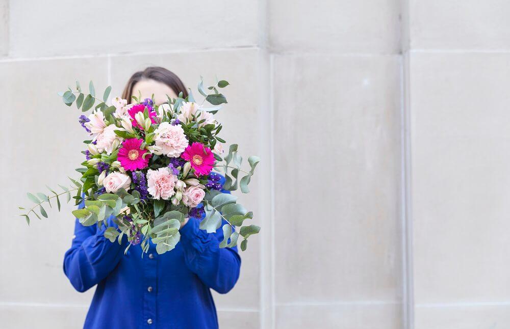 ramo de flores aromáticas