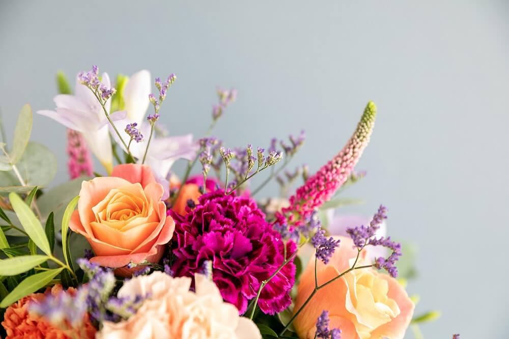 flores para niños rosas