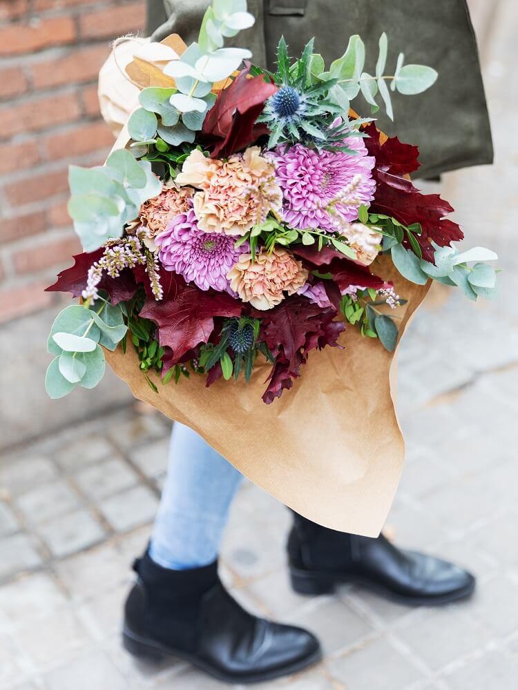 flores para niños crisantemo