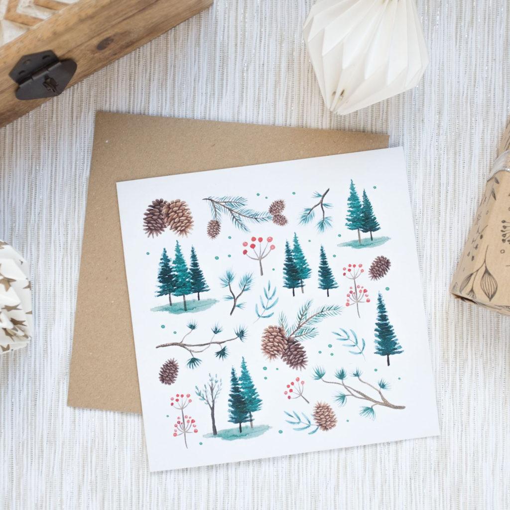 No hay Navidad sin una postal descargable