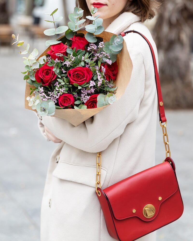 flores de san valentín rojas
