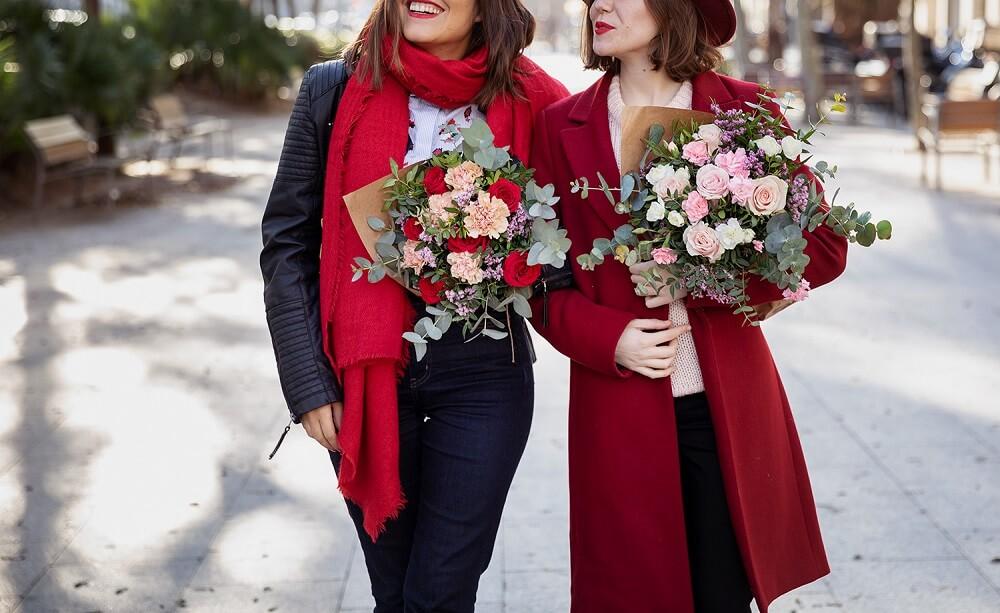 Flores de San Valentín ramos