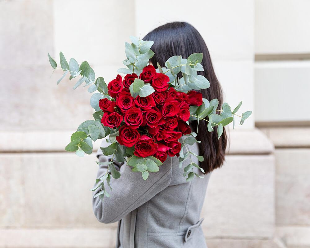 ramo de 20 rosas