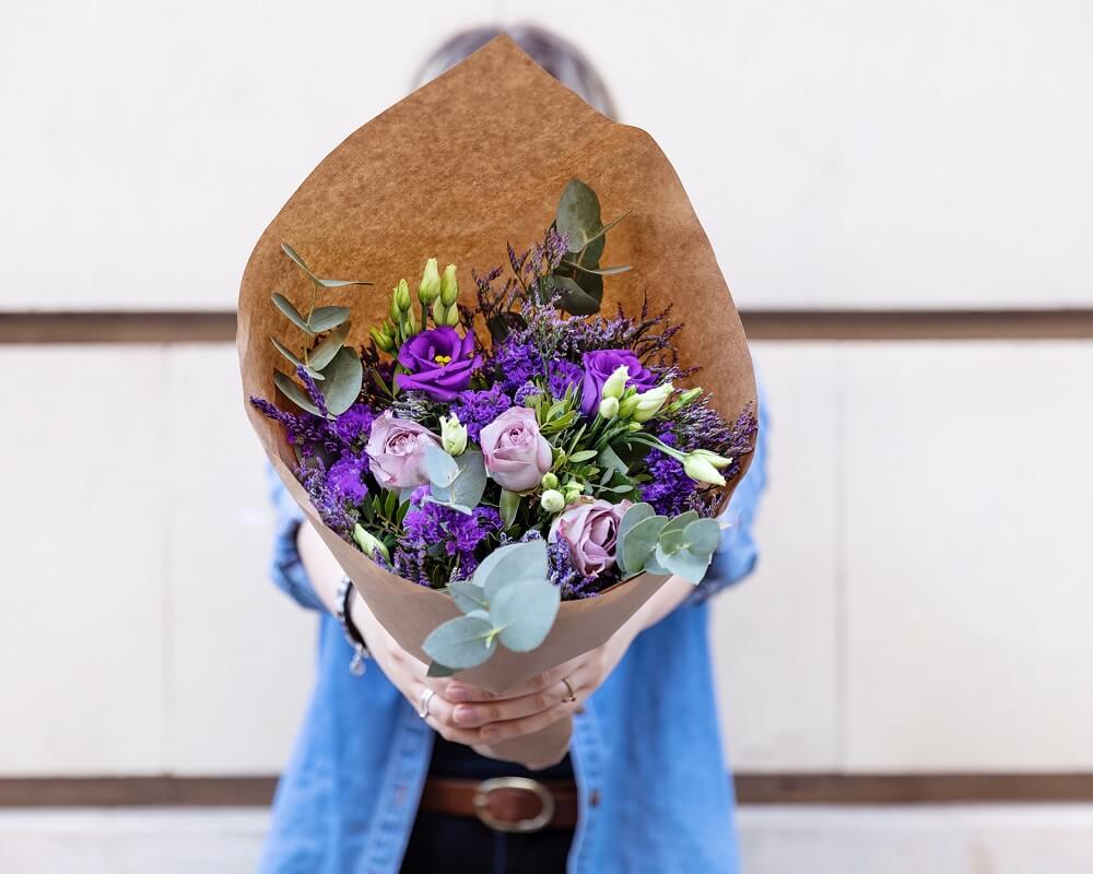 ramo de flores para el día internacional de la mujer