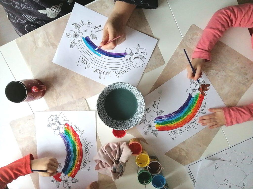 Dibujos para colorear #yomequedoencasa