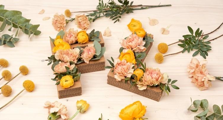 letras florales bonitas