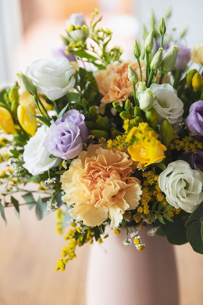 tendencias de primavera en flores
