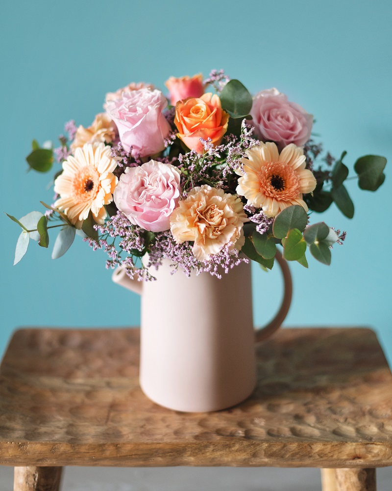 flores frescas de el día de la madre