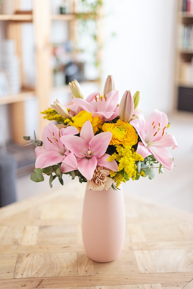 el día de la madre con flores