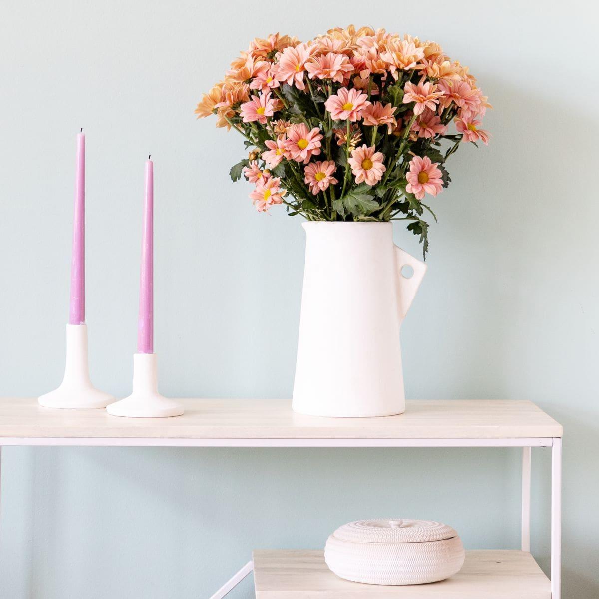ramo de flores con margaritas