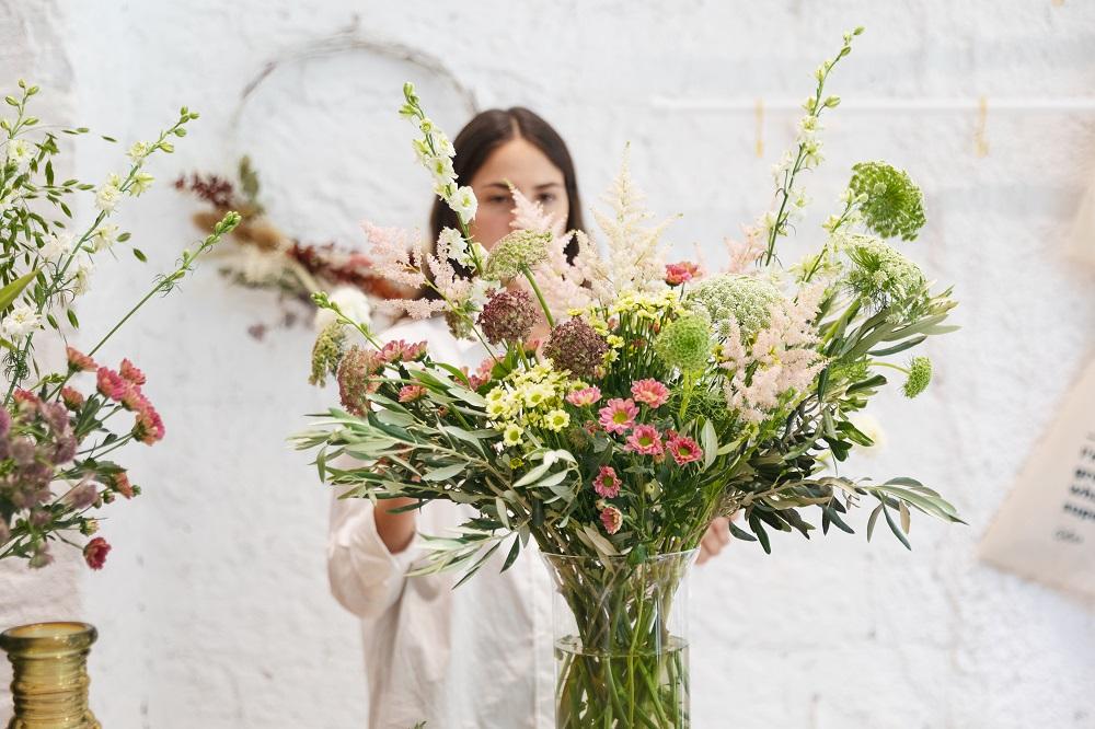 centro de flores bonito