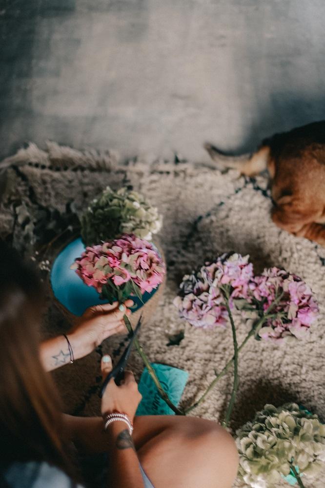 tutorial con flores