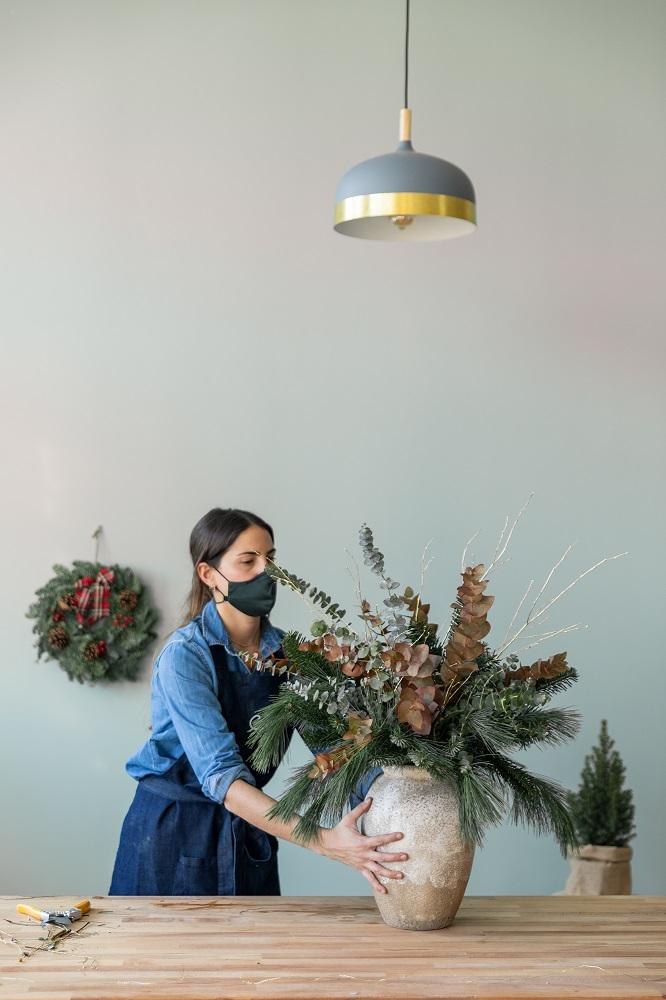 segunda vida ramos navidad cómo hacerlo