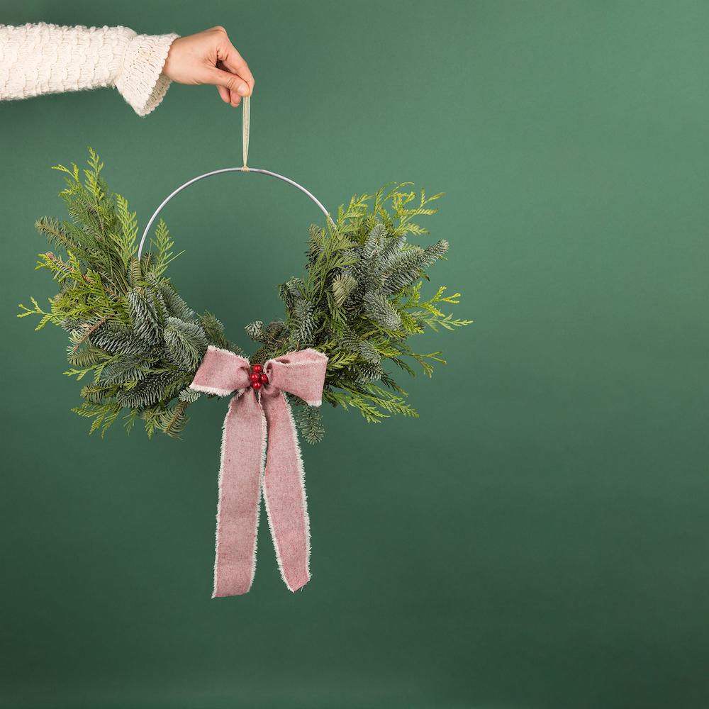 coronas de navidad colvin