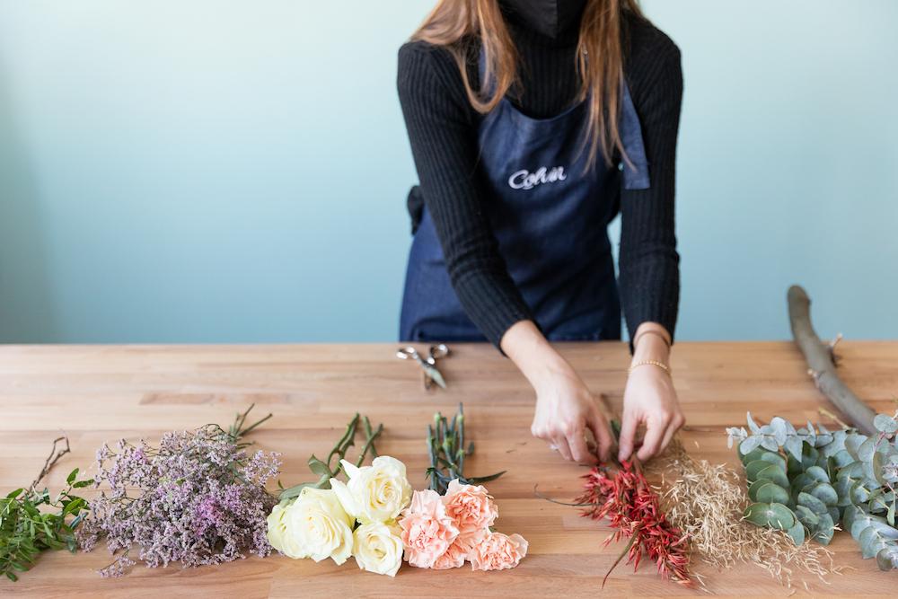 tutorial con flores paso 1