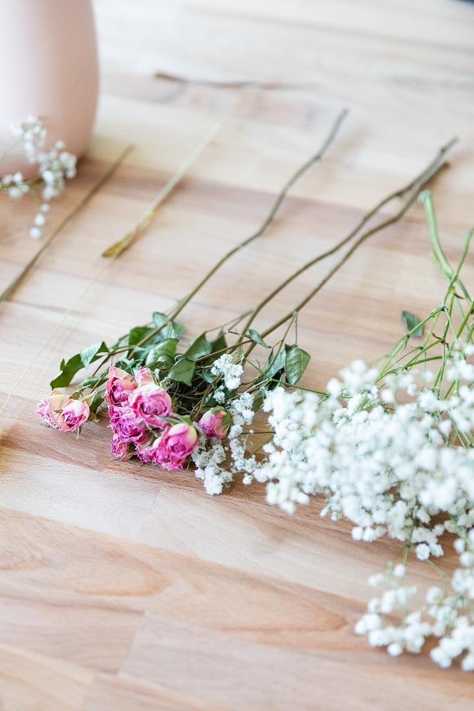tutorial con flor seca