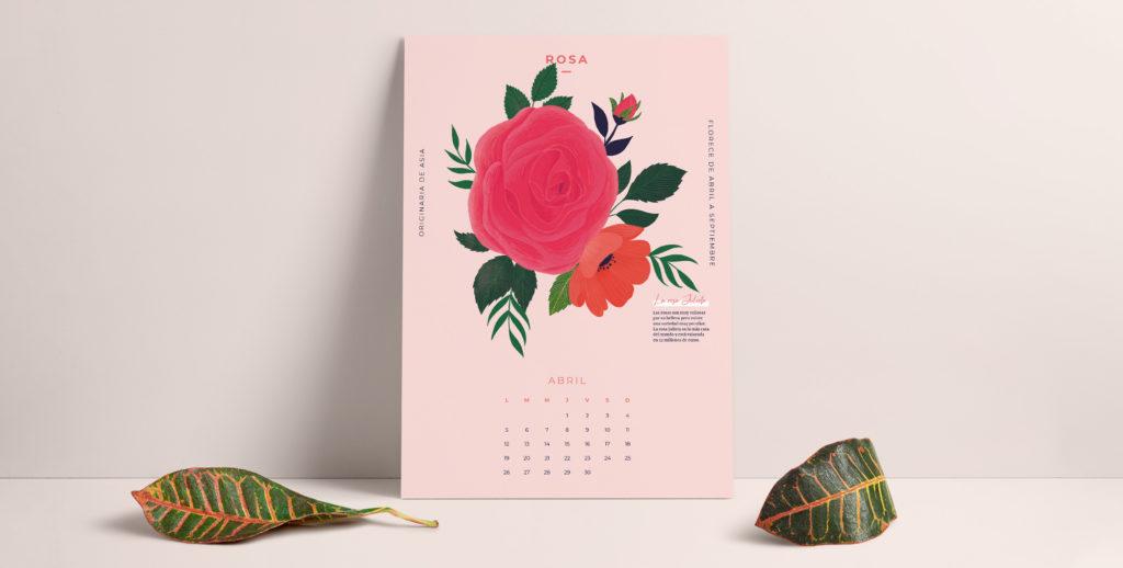 Da la bienvenida a abril con nuestro calendario descargable 2021
