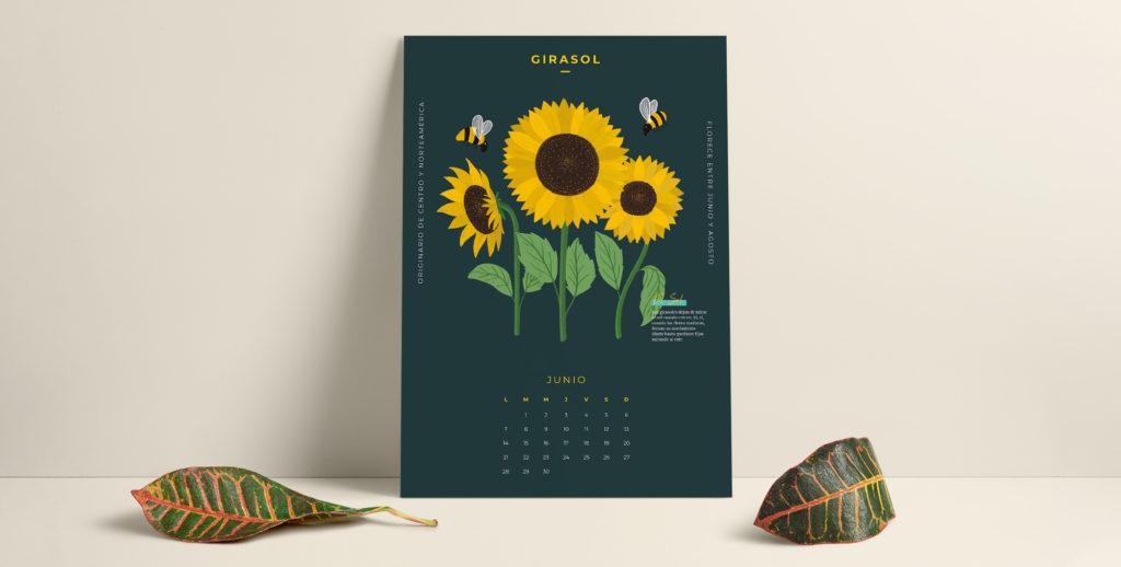 ¡Recién salido del horno! Ya está aquí el calendario descargable de junio