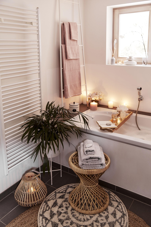 decorar baño plantas