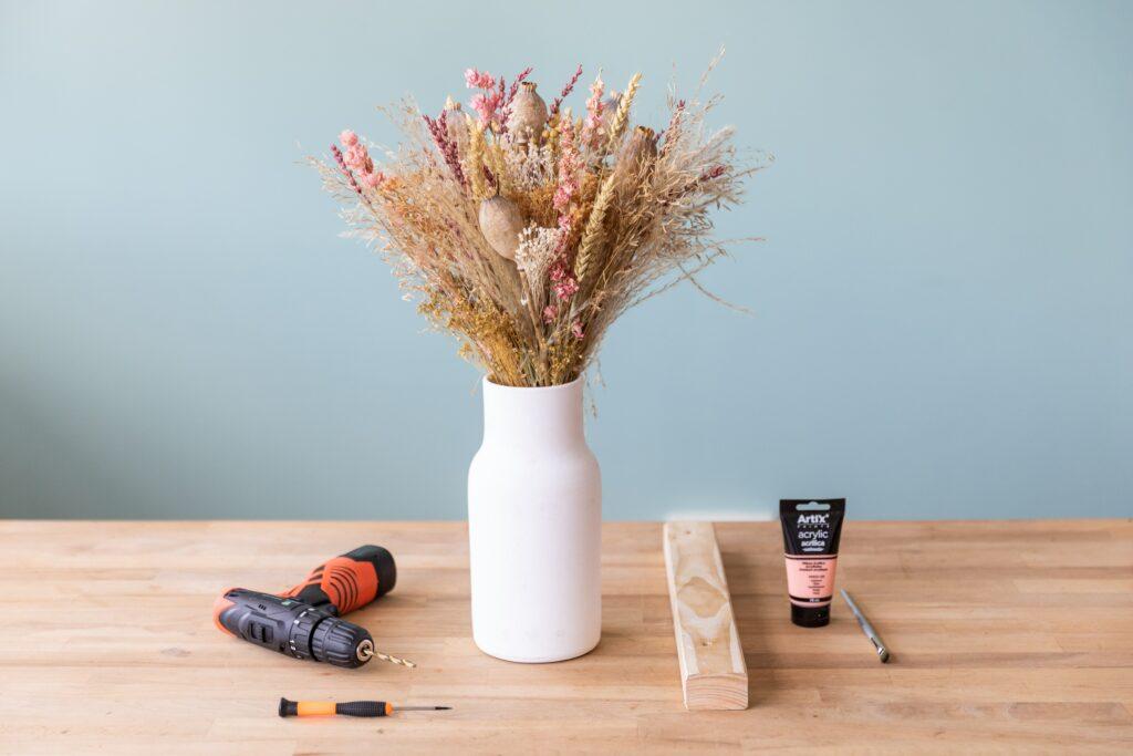 manualidades flores secas