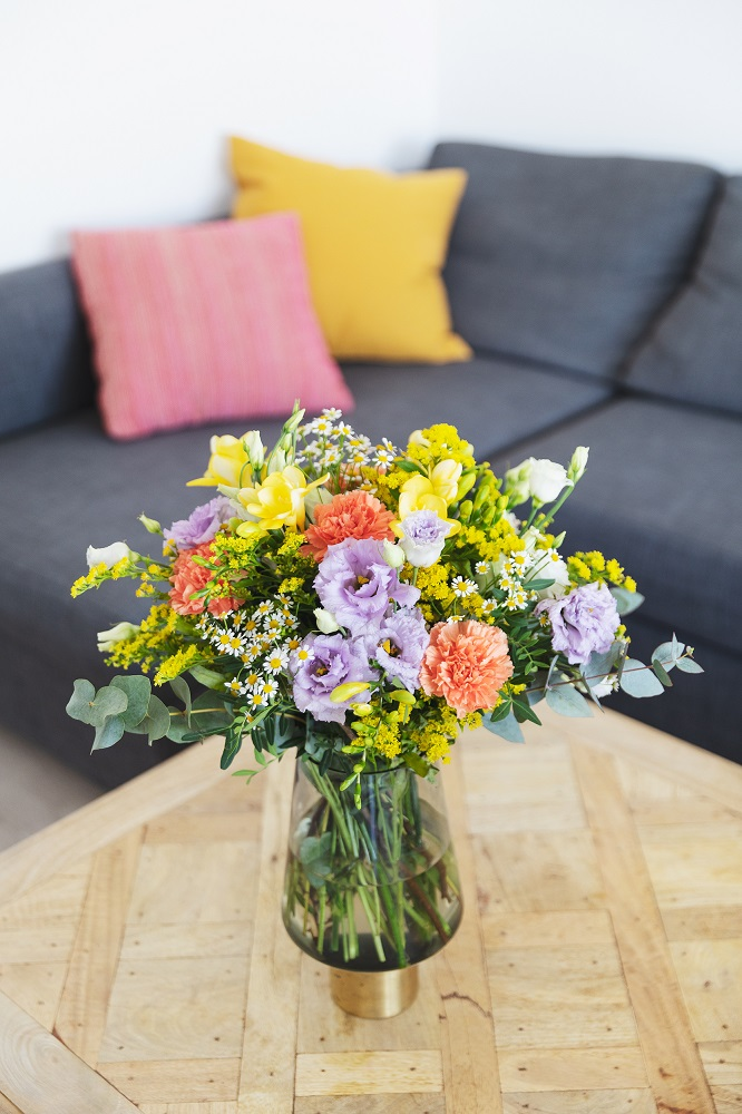 flores para un nuevo hogar - ramo