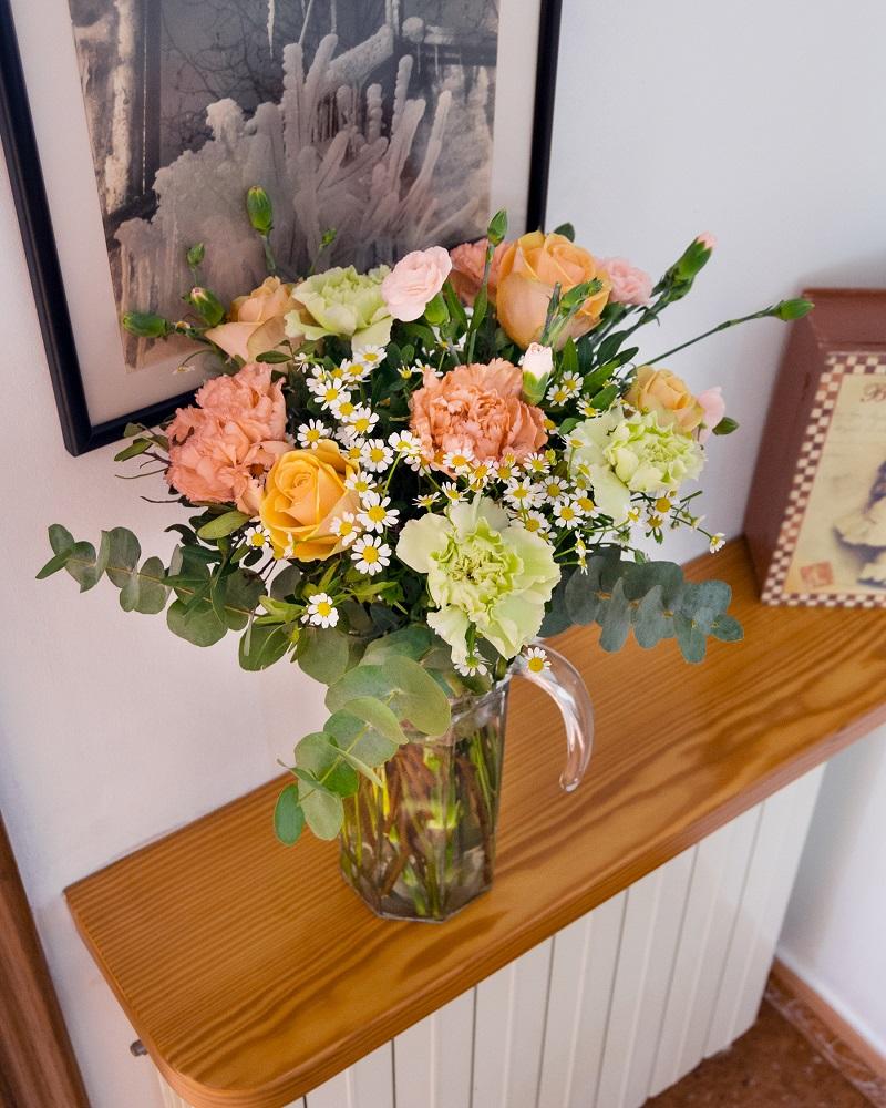 flores para un nuevo hogar